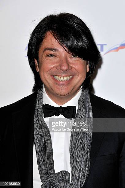 Valentin Yudashkin attends the NEON Charity Gala in aid of the IRIS Foundation at the Capital City on May 24, 2010 in Moscow, Russia.