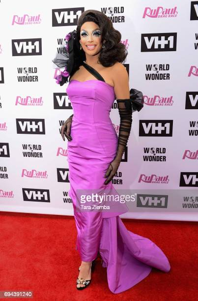 Valentina arrives at 'RuPaul's Drag Race' Season 9 Finale Taping at Alex Theatre on June 9 2017 in Glendale California