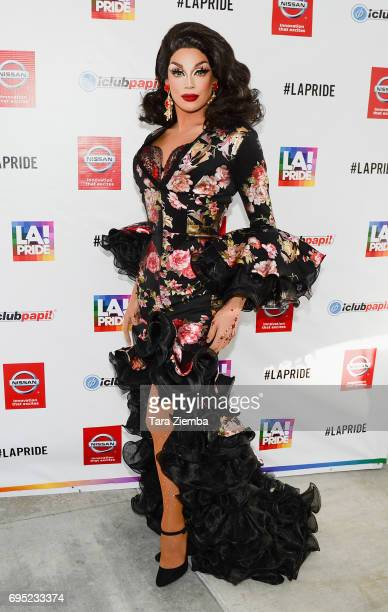 Valentina attends at the LA Pride Music Festival And Parade 2017 on June 11 2017 in West Hollywood California