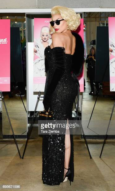Valentina attends FYC Costume Exhibit Launch Party For VH1's 'RuPaul's Drag Race' at LASC on June 12 2017 in West Hollywood California