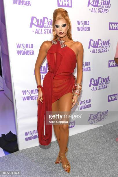 Valentina attends RuPaul's Drag Race All Stars Meet The Queens at TRL Studios on December 05 2018 in New York City