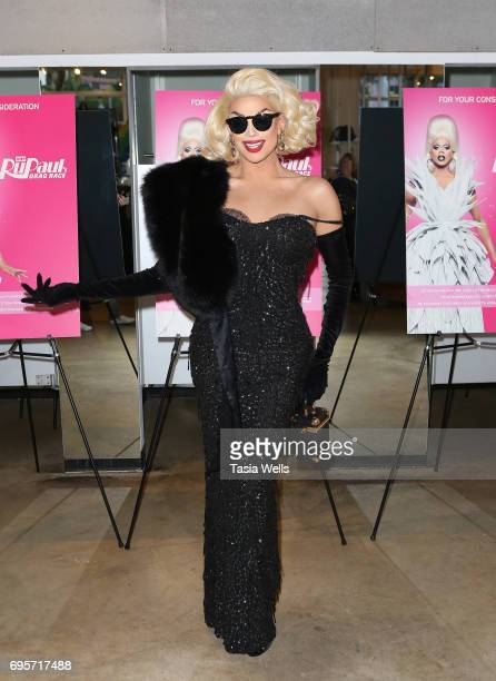 Valentina attends RuPaul's Drag Race FYC Costume Exhibit at LASC on June 12 2017 in West Hollywood California