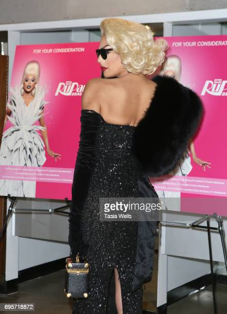 Valentina attends 'RuPaul's Drag Race' FYC Costume Exhibit at LASC on June 12 2017 in West Hollywood California