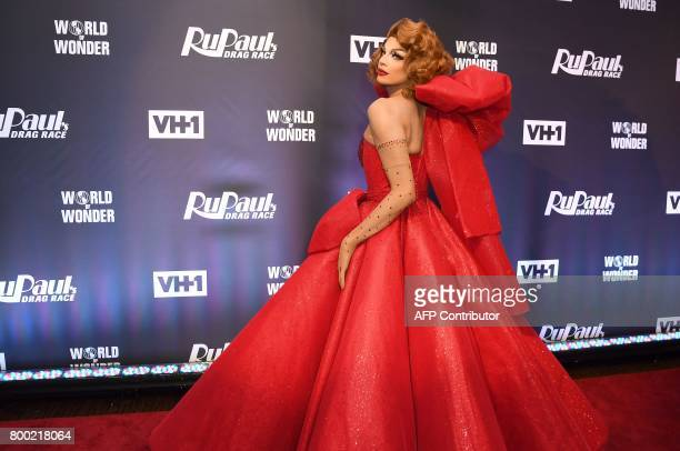 Valentina attends RuPaul's Drag Race Season 9 finale party on June 23 2017 in New York / AFP PHOTO / ANGELA WEISS