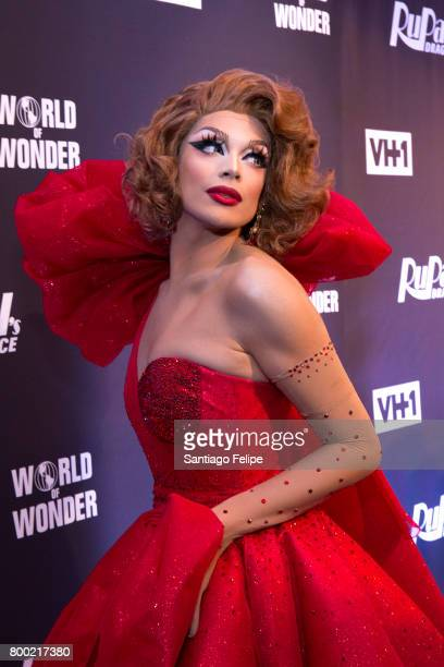 Valentina attends 'RuPaul's Drag Race' Season 9 Finale Viewing Party at Stage 48 on June 23 2017 in New York City
