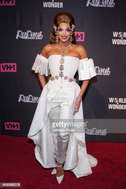 Valentina attends 'RuPaul's Drag Race' Season 9 Premiere Party Meet The Queens Event at PlayStation Theater on March 7 2017 in New York City