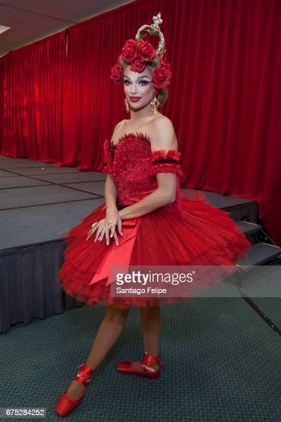 Valentina attends the 3rd Annual RuPaul's DragCon at Los Angeles Convention Center on April 30 2017 in Los Angeles California