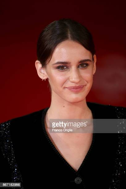 Valentina Belle walks a red carpet for 'Una Questione Privata Red' during the 12th Rome Film Fest at Auditorium Parco Della Musica on October 27 2017...