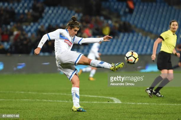 Valentina Bergamaschi of Brescia during the UEFA women's Champions League match, Round of 16, second leg, between Montpellier and Brescia on November...