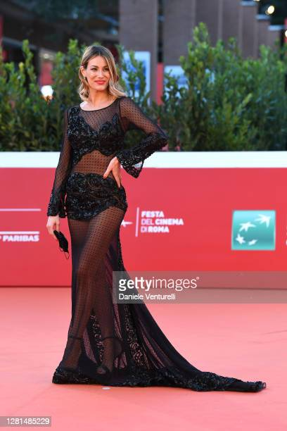 "Valentina Bonariva attends the red carpet of the movie ""Maledetta Primavera"" during the 15th Rome Film Festival on October 21, 2020 in Rome, Italy."