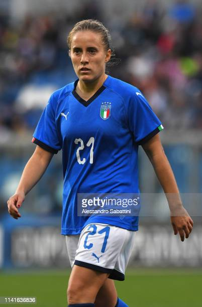 Valentina Cernoia of Italy Woman looks on during the International Friendly match between Italy Women and Ireland Women at Mapei Stadium - Città del...