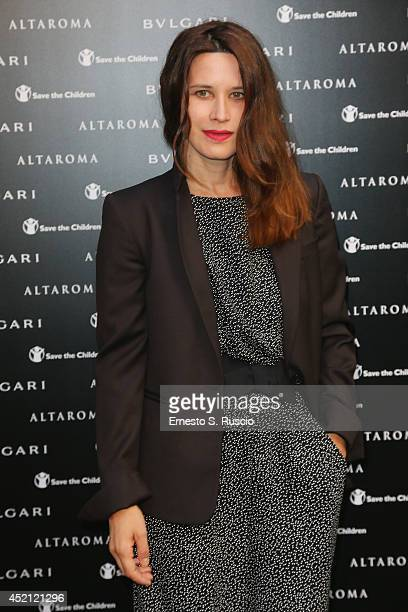 Valentina Cervi attends the 'Isabella Ferrari Forma/Luce' cocktail party at Horti Sallustiani on July 13, 2014 in Rome, Italy.