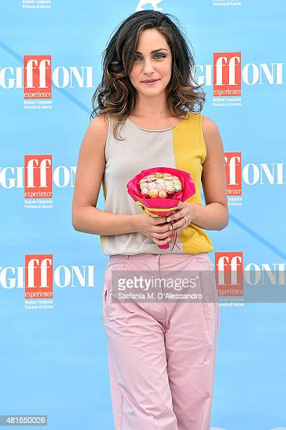 Valentina Corti attends Giffoni Film Festival 2015 Day 6 on July 22 2015 in Giffoni Valle Piana Italy