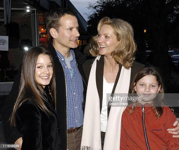 Valentina De Angelis Campbell Scott Joan Allen and Joan Allen's daughter Sadie