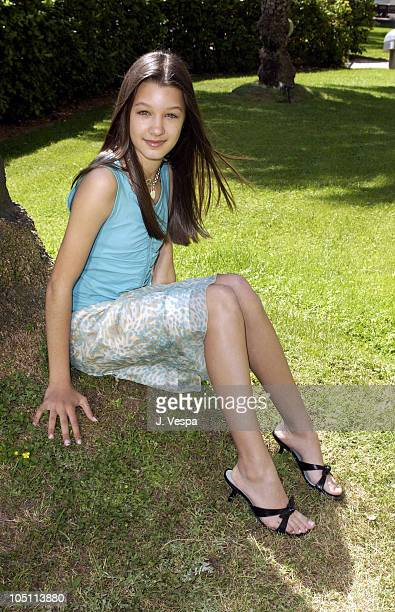 Valentina de Angelis during 2003 Cannes Film Festival Off The Map Portraits at Terrasse Riviera in Cannes France