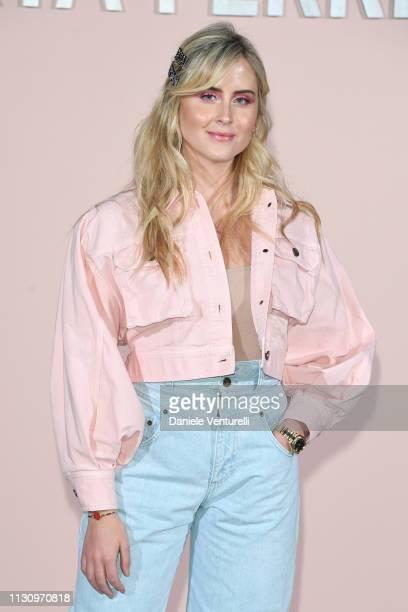 Valentina Ferragni attends the Alberta Ferretti show at Milan Fashion Week Autumn/Winter 2019/20 on February 20 2019 in Milan Italy
