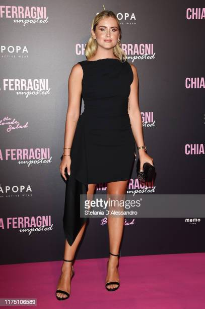 Valentina Ferragni attends the Chiara Ferragni Unposted premiere in Milan on September 16 2019 in Milan Italy