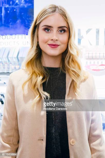 Valentina Ferragni attends the KikoID store opening on November 22 2017 in Milan Italy