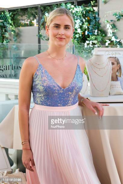Valentina Ferragni presents her jewelry summer collection with Italian brand rue des Mille on June 25 2019 in Madrid Spain