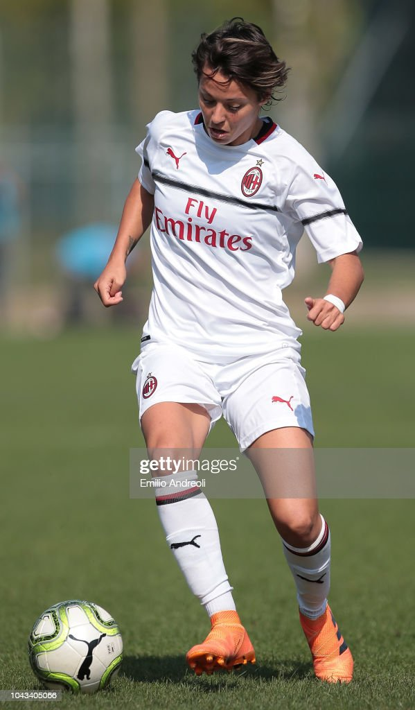 Valentina giacinti of ac milan in action during the serie for Immagini valentina