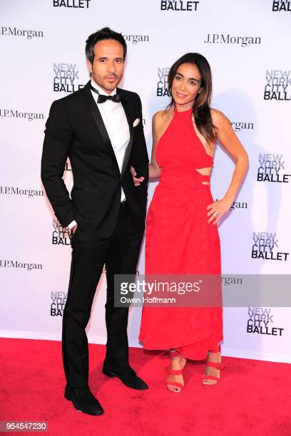 Valentina Kraver and Lawrence Herbert attends New York City Ballet 2018 Spring Gala at David H Koch Theater Lincoln Center on May 3 2018 in New York...