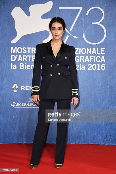 Valentina Lodovini attends the premiere of 'Franca: Chaos And Creation' during the 73rd Venice Film Festival at Sala Giardino on September 2, 2016 in...