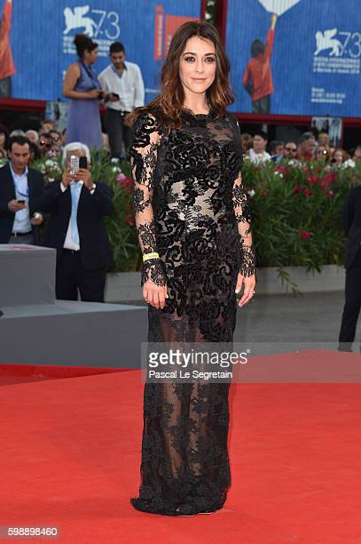 Valentina Lodovini attends the premiere of 'The Young Pope' during the 73rd Venice Film Festival at Palazzo del Casino on September 3, 2016 in...