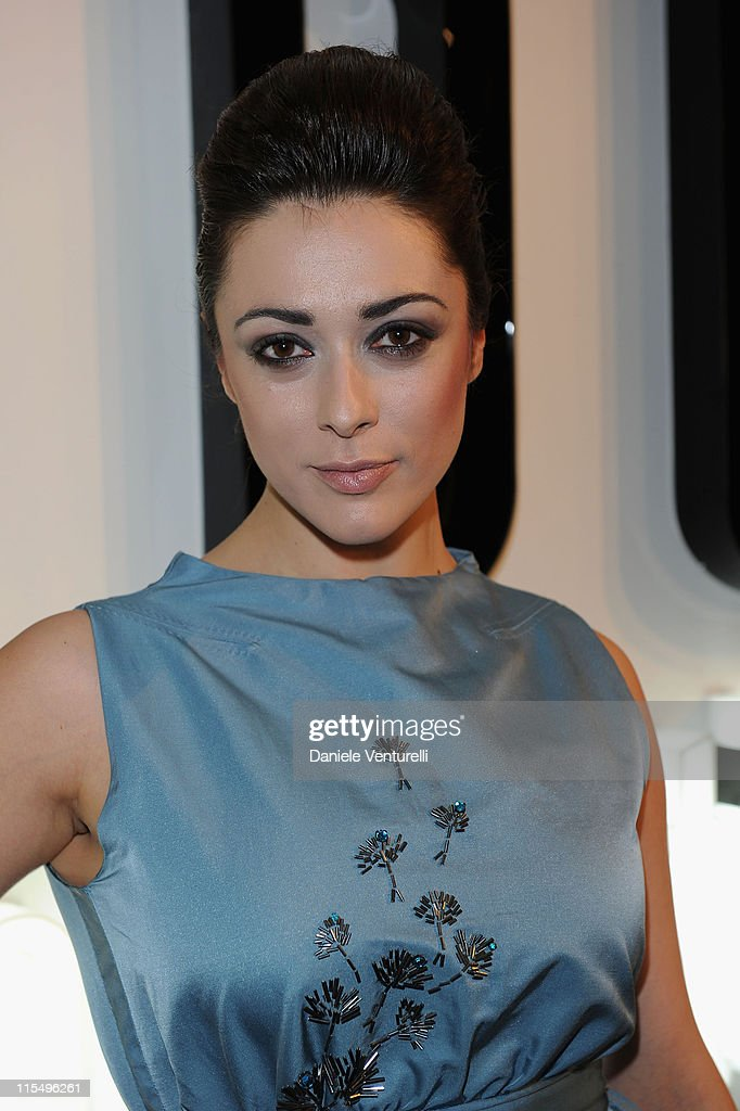 Valentina Lodovini attends the Salvatore Ferragamo 'Greta Garbo' exhibition at the Triennale Museum during Milan Fashion Week Womenswear A/W 2010 on February 27, 2010 in Milan, Italy.