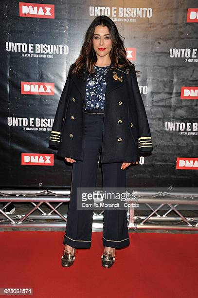Valentina Lodovini attends 'Unto E Bisunto' premiere on December 6 2016 in Rome Italy