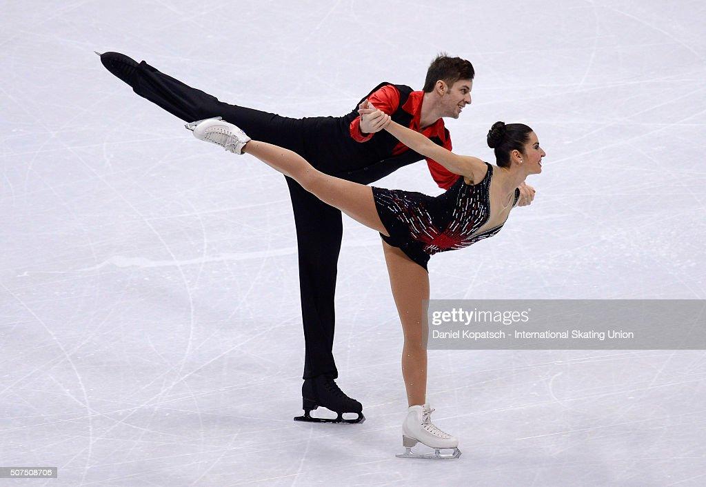 European Figure Skating Championships 2016  - Day 4