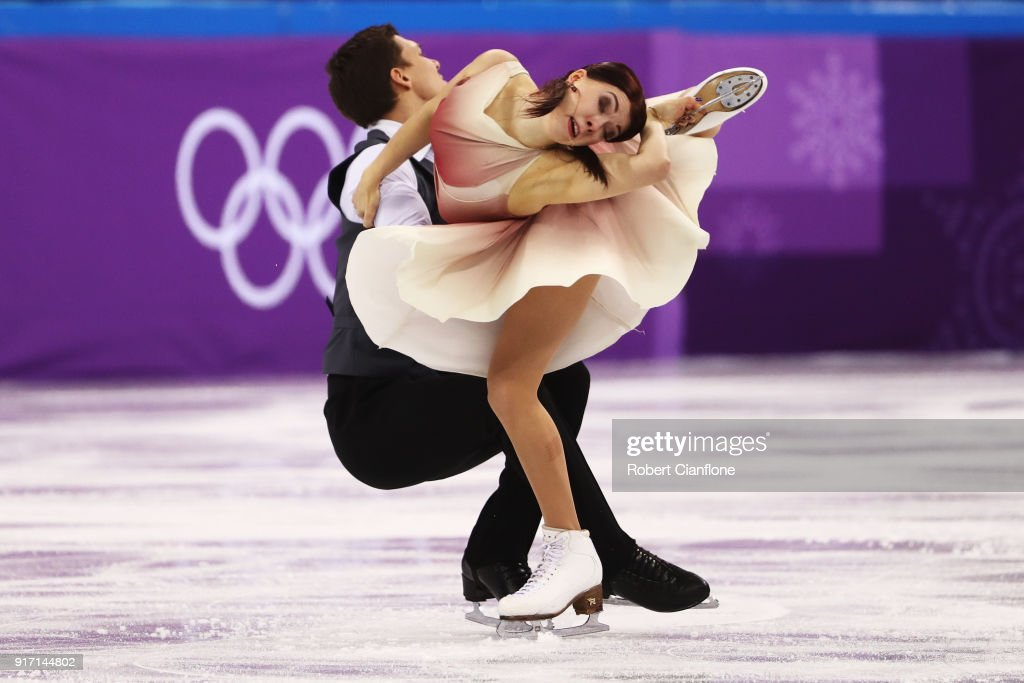 Figure skating winter olympics day 3 valentina marchei and ondrej hotarek of italy skate during the ice dance free dance section of voltagebd Gallery