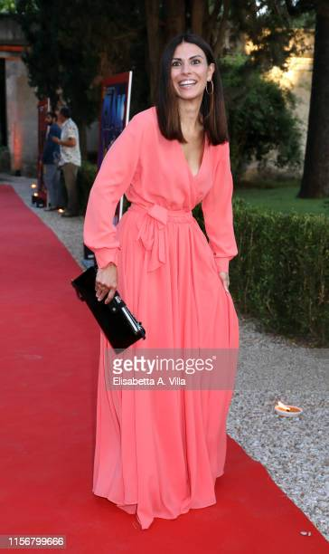 Valentina Melis arrives at the Ciak D'Oro Awards Ceremony at Link Campus University on June 18, 2019 in Rome, Italy.