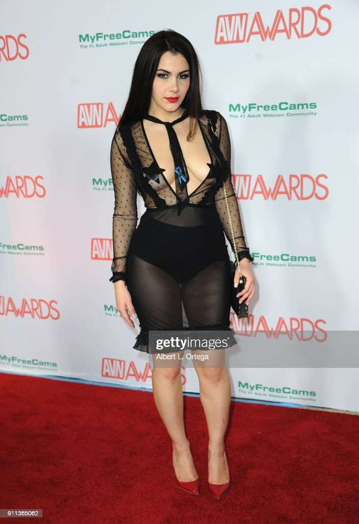 Valentina Nappi Attends The 2018 Adult Video News Awards Held At Hard Rock  Hotel Casino On