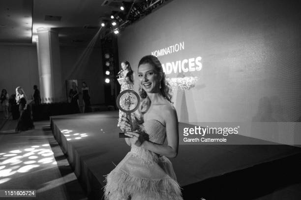 Valentina Nessi attends the Inaugural 'World Bloggers Awards' during the 72nd annual Cannes Film Festival on May 24 2019 in Cannes France The 'World...