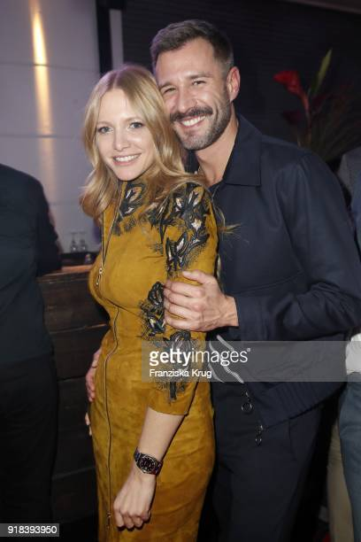 Valentina Pahde and Jochen Schropp during the Young ICONs Award in cooperation with ICONIST at SpindlerKlatt on February 14 2018 in Berlin Germany
