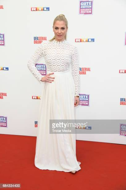 Valentina Pahde attends the 25th anniversary party of the TV show 'GZSZ' on May 17, 2017 in Berlin, Germany.
