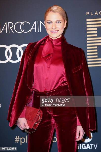 Valentina Pahde attends the PLACE TO B PreBerlinaleDinner Photo Call at Provocateur on February 13 2018 in Berlin Germany