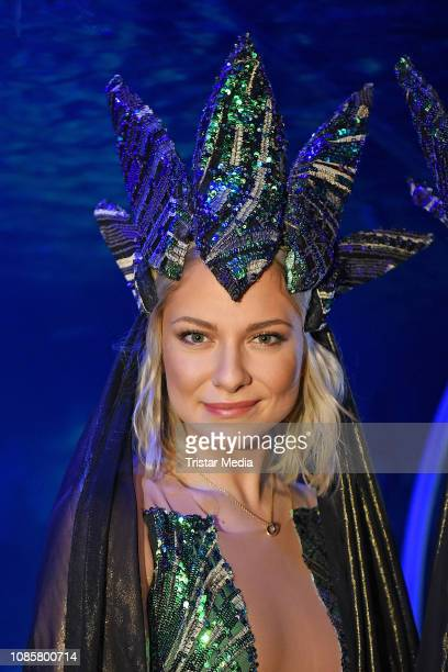 Valentina Pahde during the 'Holiday on Ice Atlantis' photocall at Sea Life on January 21 2019 in Berlin Germany