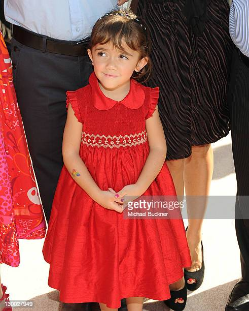"""Valentina Paloma Pinault arrives at the premiere of Dreamworks Animation's """"Puss In Boots"""" at the Regency Westwood Theatre on October 23, 2011 in..."""