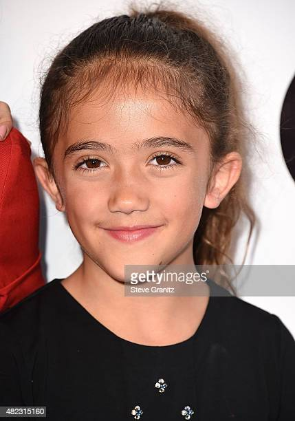 """Valentina Paloma Pinault arrives at the Screening Of GKIDS' """"Kahlil Gibran's The Prophet"""" at Bing Theatre At LACMA on July 29, 2015 in Los Angeles,..."""