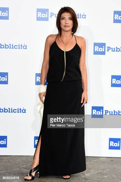 Valentina Petrini attends the Rai show schedule presentation at Statale University of Milan on June 28 2017 in Milan Italy