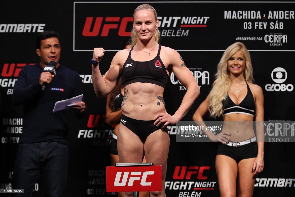 UFC Fight Night: Weigh-ins