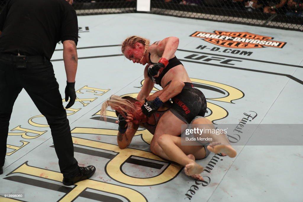 UFC Fight Night: Shevchenko v Cachoeira : News Photo