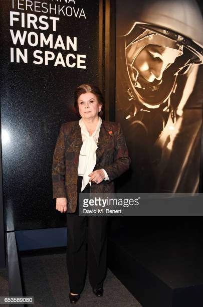 Valentina Tereshkova attends the Artpoint Foundation gala screening of 'The Legend About Valentina' a specially commissioned short film on the life...