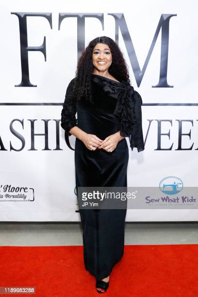 Valentina Wilson attends FTM Fashion Week S7 at Sturgeon City on November 23 2019 in Jacksonville North Carolina