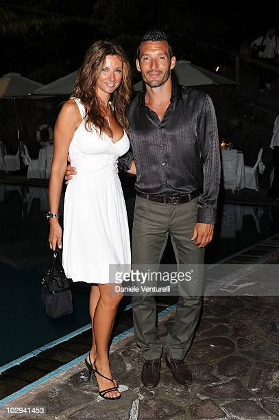 Valentina Zambrotta and Gianluca Zambrotta attend day six of the Ischia Global Film And Music Festival on July 16 2010 in Ischia Italy