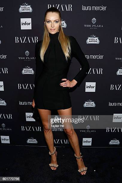Valentina Zelyaeva attends the 2016 Harper ICONS Party at The Plaza Hotel on September 9 2016 in New York City