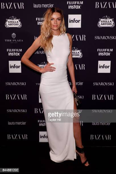 Valentina Zelyaeva attends the 2017 Harper ICONS party at The Plaza Hotel on September 8 2017 in New York City