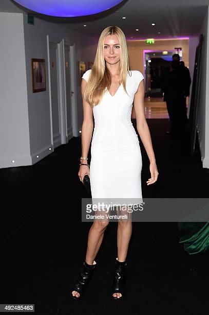 Valentina Zelyaeva attends the De Grisogono Party at the 67th Annual Cannes Film Festival on May 20 2014 in Cap d'Antibes France