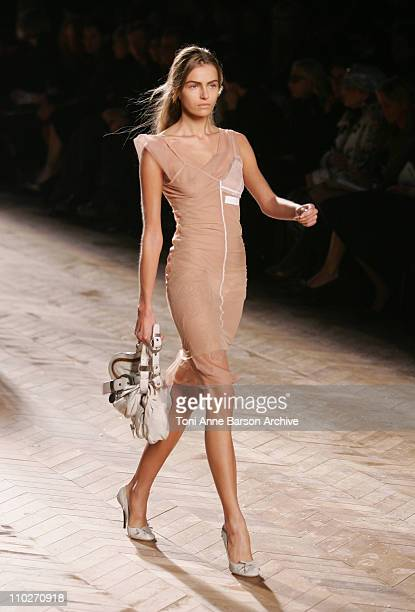 Valentina Zelyaeva wearing Christian Dior Spring/Summer 2006
